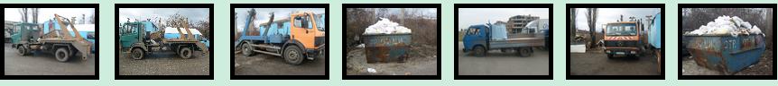 контейнери за извозване на строителни отпадъци